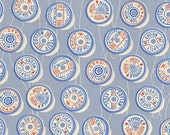 Pre-order Fat Quarter Spools in Blue of Trinket by Melody Miller for Cotton and Steel