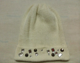 Vintage H&M Acrylic Beanie Snow Cap Ski Hat