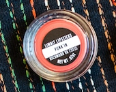 Punk'in Mini Jar  Bright Orange Semi Matte Opaque Vegan Lipstick