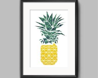 Geometric Pineapple