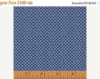 30% Off Sale Scales - Blue by Windham Fabrics (40416-2) Fabric Yardage