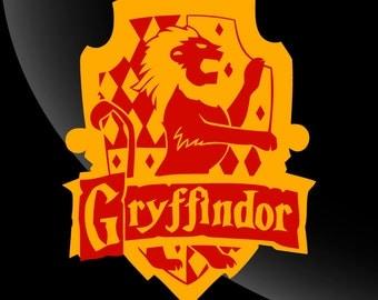 Gryffindor House Crest Harry Potter Decal Sticker