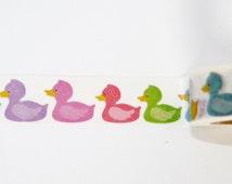 Washi Tape roll ducks scrapbooking planner supplies Gift  decoration baby shower  invitation kid fun