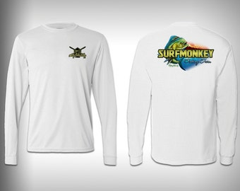 SurfMonkey Fishing Team  - performance shirts