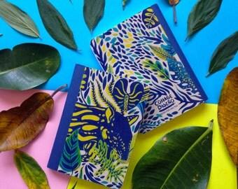 Costa Rica colorful notebooks