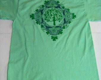 Grateful Dead, Shamrock Shirt, St. Patrick's Day!