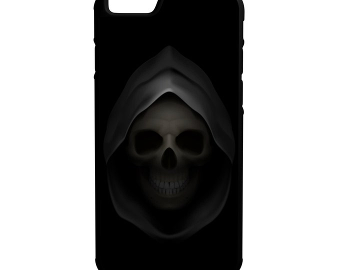 Grim Reaper iPhone Galaxy Note LG HTC Hybrid Rubber Protective Case