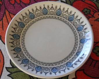 "Vintage 1960's  Bread Plate    ""Kathie Winkle style "" -Bilton of England Staffordshire"