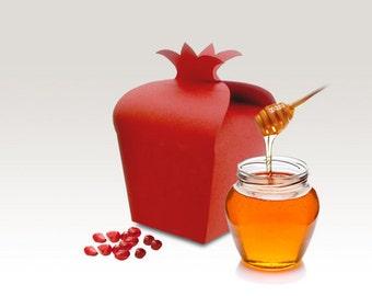 Customized Order for Jaclynn, Pomegranate Shape Gift Boxs for Rosh Hashana