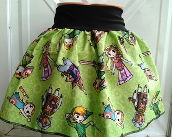 Legend of Zelda skirt/babydoll shirt Nintendo Gamer Link