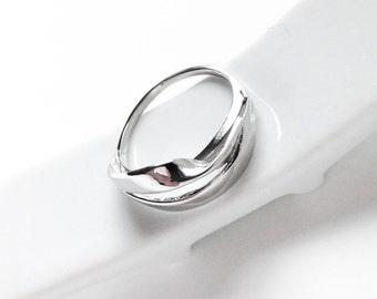 "INFINITE # 05: Ring ""infinite sign"", Sterling."