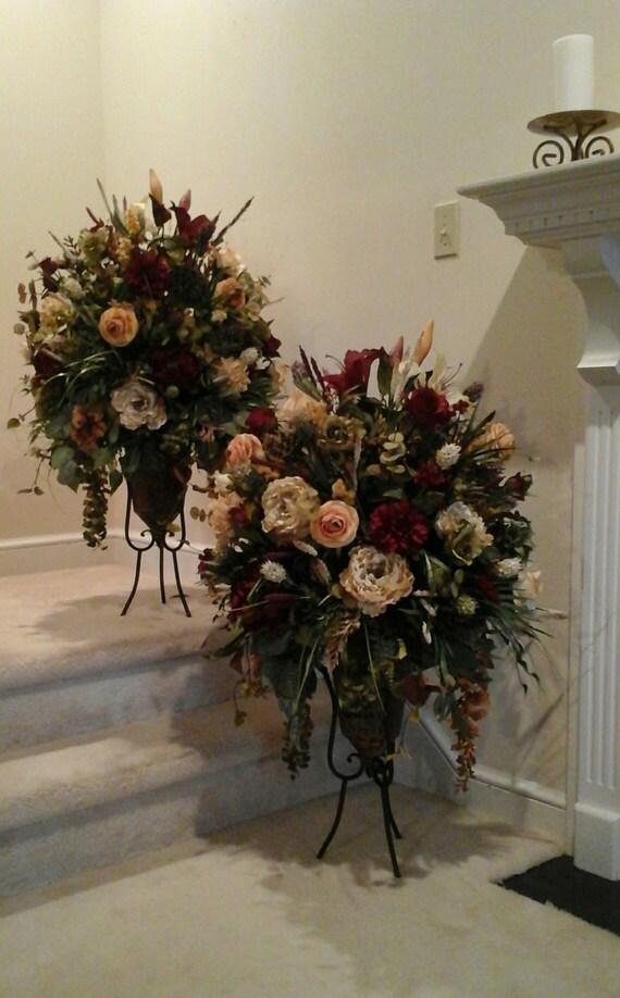 Large Foyer Floral Arrangements : Large floral arrangement floor centerpiece shipping