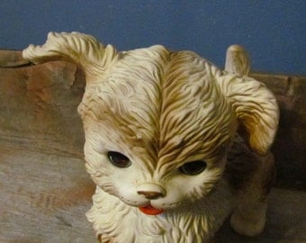 Vintage 1950's Edward Mobley Rubber Squeak Toy Collectible Dog