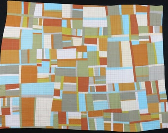 "Art Quilt, Quilt Art, Wallhanging. Motif #21. 32""H x 42""W. Pieced and quilted in 100% cotton, hanging sleeve."