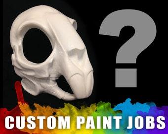 Custom Painted - Rodent / Rabbit Skull Mask