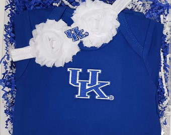 Kentucky Wildcat Game Day Gal Baby Clothing Gift Set