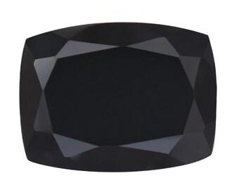 Thai Black Spinel Cushion Cut Loose Gemstone 1A Quality 16x12mm TGW 13.00 cts.