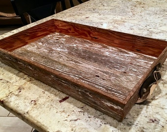Reclaimed Barn Wood Serving Tray or Display
