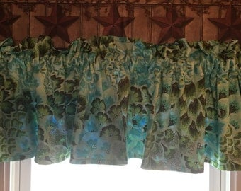 Amy Butler Valance with batik lining