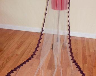 White Wedding Veil, Ivory Custom Bridal Veil, Veils on Combs, Boho Veil, Chapel Veils, Cathedral Veils, Short Wedding Veils