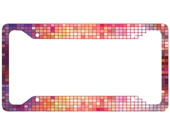 disco ball license plate frame glam car tag frame glitz license plate holder cute license plate frame 30 709