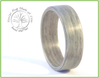 Ash tree wooden ring, wooden wedding band, tree ring, ash ring. Tree engagement ring, wedding ring, anniversary gift, promise ring.