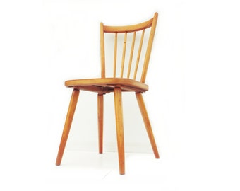 """Vintage chair in wood """"Probst Nürnberg"""""""