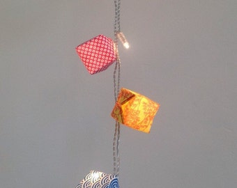 Ajohan origami string of fairy lights