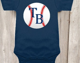 Tampa Bay Rays Inspired Bodysuit for Baby Boy