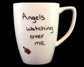 Angels watching over me Coffee Cup