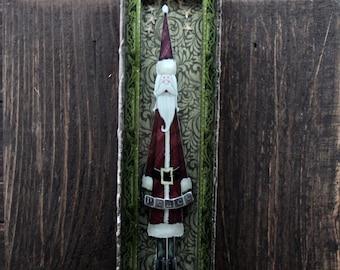 Tall Santa Christmas Decor