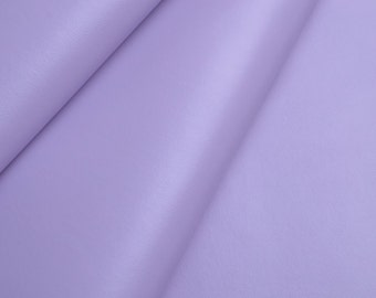 1/2 yard 0.7mm Pale Lavender Leather Fabric,Solid Vinyl Leather fabric,faux leather fabric (#53)