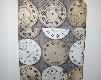 Steampunk Clocks Crossover Purse