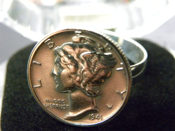 Women Ring Good Condition Vintage Mercury Dime Coin 925. We Heart It Engagement Rings. Watercolor Wedding Rings. Circle Life Engagement Rings. Meaningful Engagement Rings. Embossed Wedding Rings. Desain Wedding Rings. Pile Engagement Rings. Five Year Engagement Wedding Rings
