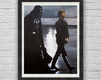 This Shadow Follows Me - Luke Skywalker and Darth Vader Star Wars Return of the Jedi