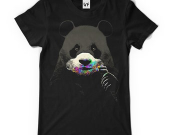 Men's Printed T-Shirt | Cute Panda (SB474)