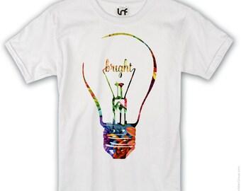 Bright Idea Lightbulb Mens T-Shirt (SB736)