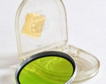 Vintage Genuine Zeiss Ikon 40.5 Green Filter