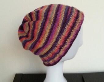 LANA - Striped Beanie Hat