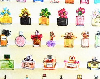 Perfume Sticker