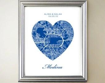 Medina Heart Map