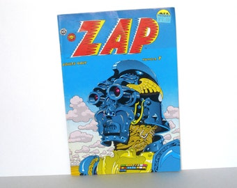 Warning - MATURE CONTENT - ZAP Comix Book - Number 7 - No 7 - Last Gasp - Adult Comics - Vintage 1970s - 1974 - Very Excellent Condition