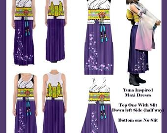 Yuna Inspired Maxi Dresses
