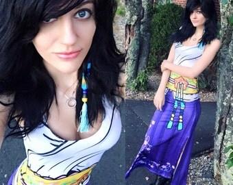 Yuna Final Fantasy Inspired Maxi Dresses