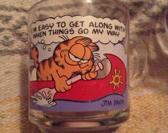 Garfeild glass mugs