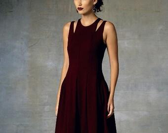 Vogue Sewing Pattern V1424 Misses' Shoulder-Cutout Dress
