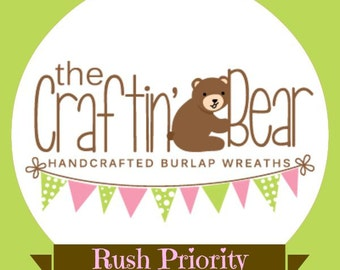 Expedited shipping - The Craftin' Bear