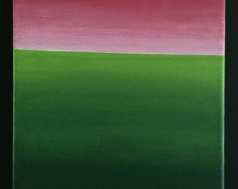 Summer Hues - tasty watermelon inspired painting
