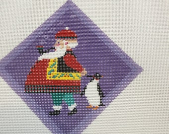 Penguin Santa