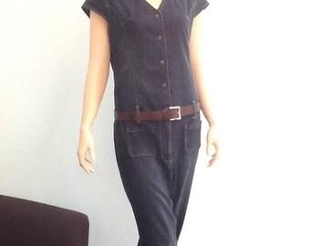 Blue Jean,Denim Jumpsuit,Size XL